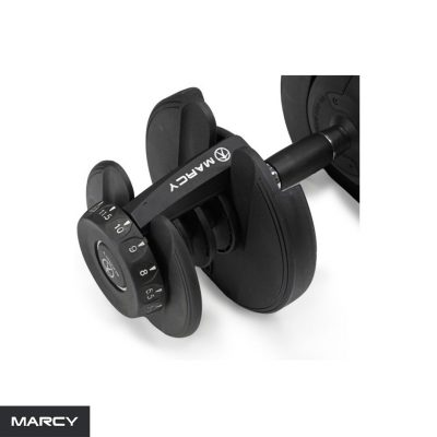 MARCY  Rack and Selector Dumbell